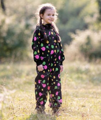 Waterproof Softshell Overall Comfy Lollipops Jumpsuit