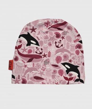 Baggy Hat Ocean Pink