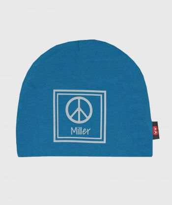Baggy Hat Petrol Reflex Peace Sign
