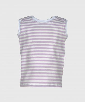 Tank Top Stripes Purple
