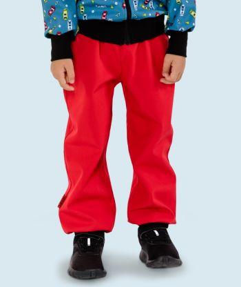 Waterproof Softshell Pants Red