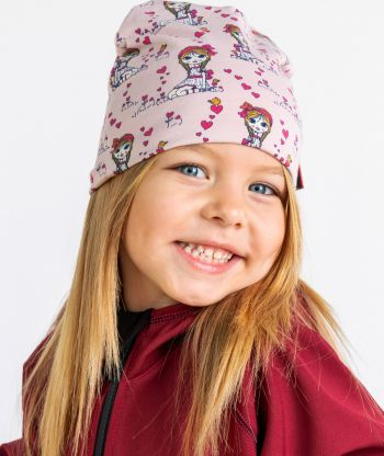 Baggy Hat Girl Pink