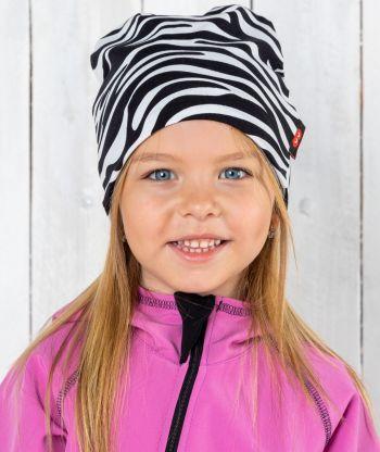 Baggy Hat Zebra Stripes