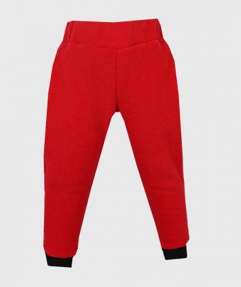 Polar Fleece Pants Red