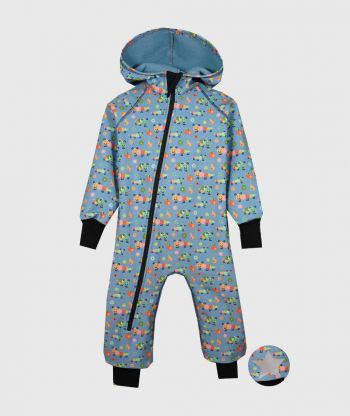 Waterproof Softshell Overall Comfy Ants Jumpsuit