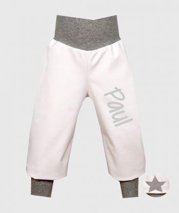 Waterproof Softshell Pants White