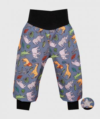 Waterproof Softshell Pants Savanna Animals