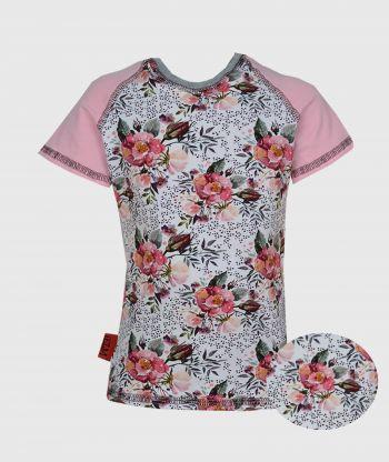 T-shirt Pink Wild Roses